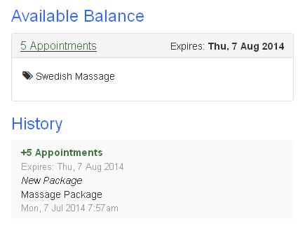 Customer available balance